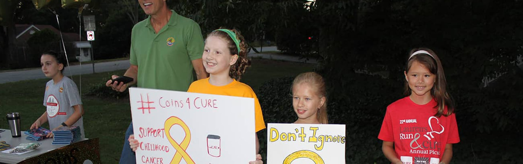 Host a Fundraiser - CURE Childhood Cancer