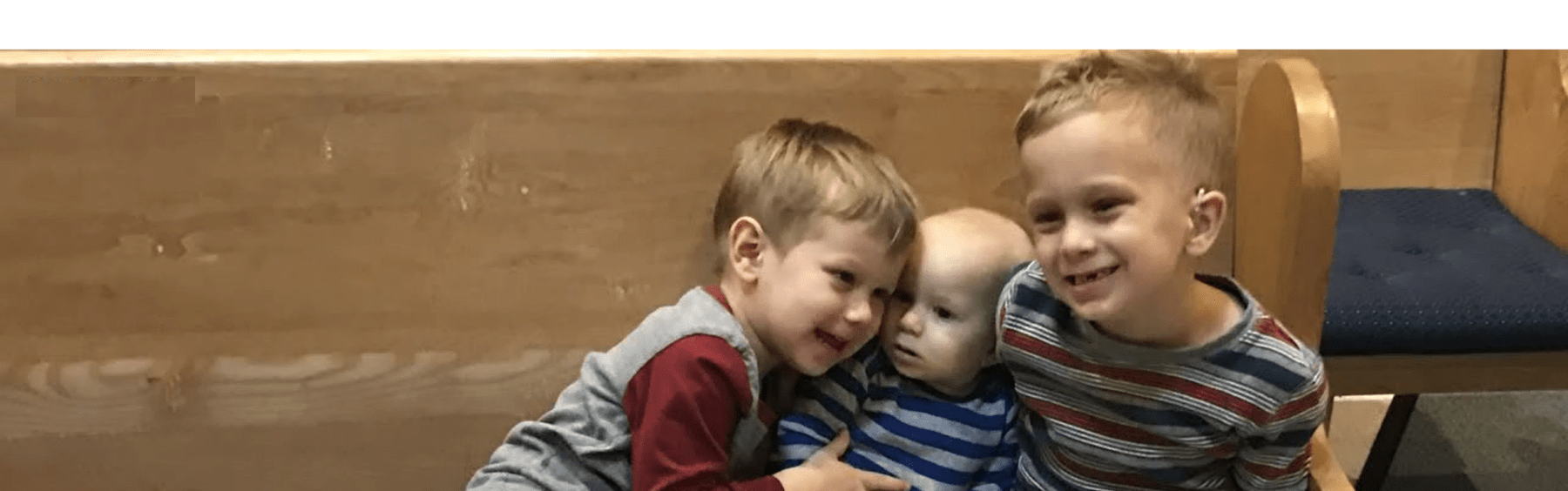Three Brothers Winning the Fight Thanks to Early Diagnosis